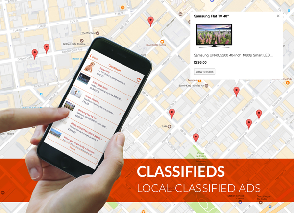 Classifieds: Create a Craigslist-like app